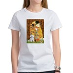 The Kiss / Maltese Women's T-Shirt