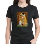 The Kiss / Maltese Women's Dark T-Shirt