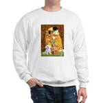 The Kiss / Maltese Sweatshirt