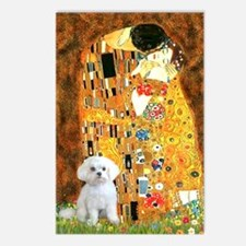 The Kiss / Maltese Postcards (Package of 8)