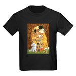 The Kiss / Maltese Kids Dark T-Shirt