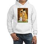 The Kiss / Maltese Hooded Sweatshirt