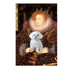 The Queen's Maltese Postcards (Package of 8)