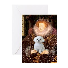 The Queen's Maltese Greeting Cards (Pk of 10)