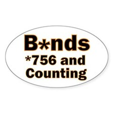 B*nds Oval Decal
