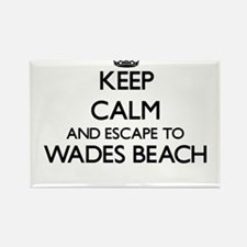 Keep calm and escape to Wades Beach New Yo Magnets