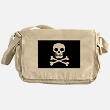 Pirate Flag Skull And Crossbones Messenger Bag