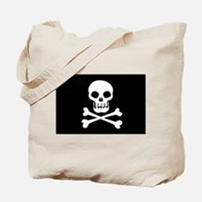Pirate Flag Skull And Crossbones Tote Bag