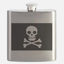 Pirate Flag Skull And Crossbones Flask