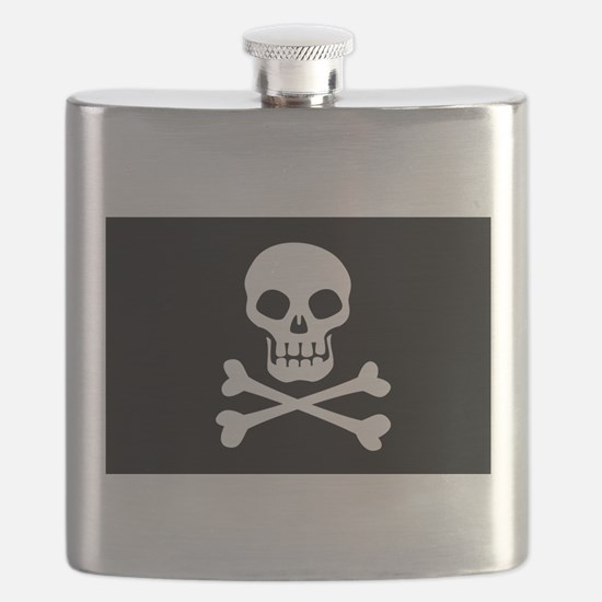 Pirate Flag Skull And Crossbones Flask