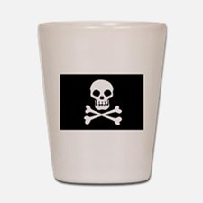 Pirate Flag Skull And Crossbones Shot Glass