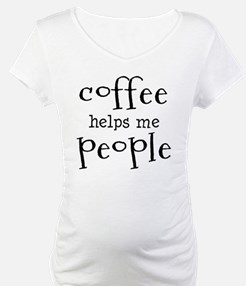 coffee helps me people Shirt