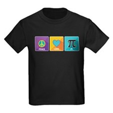 Peace, Love, Pi T-Shirt