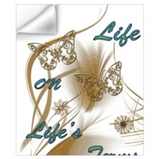 Life On Lifes Terms Wall Decal