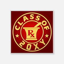 "Class of 20?? Pharmacy Square Sticker 3"" x 3"""