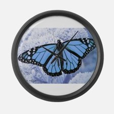 Unique Butterfly Large Wall Clock