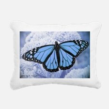Unique Butterfly Rectangular Canvas Pillow