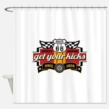 Get Your Kicks Shower Curtain