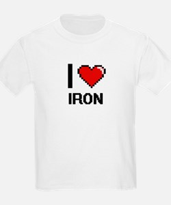 I Love Iron T-Shirt