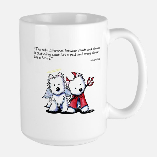 KiniArt Saint & Sinner Large Mug