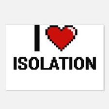 I Love Isolation Postcards (Package of 8)
