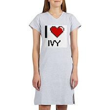 I Love Ivy Women's Nightshirt