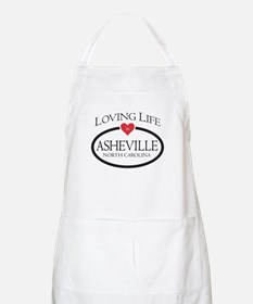 Loving Life in Asheville, NC Apron