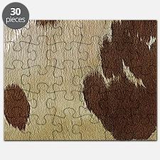 Cow Hide Puzzle