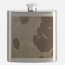 Cow Hide Flask