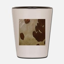 Cow Hide Shot Glass