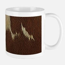 Cow Hide Mugs