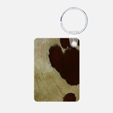 antique cow hide Keychains