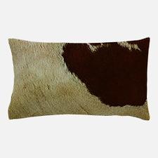 antique cow hide Pillow Case