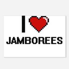 I Love Jamborees Postcards (Package of 8)