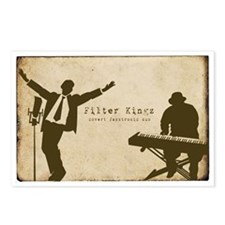 Filter Kingz Postcards (package Of 8)