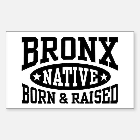 Bronx Native Sticker (Rectangle)