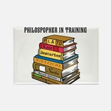 Philosopher in Training Rectangle Magnet