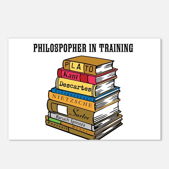 Philosopher in Training Postcards (Package of 8)