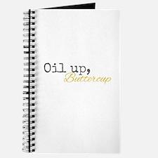 Oil Up Buttercup Journal