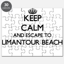 Keep calm and escape to Limantour Beach Cal Puzzle