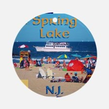 Spring Lake NJ Ornament (Round)