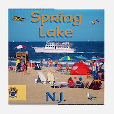 Spring Lake NJ Tile Coaster