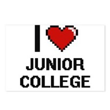 I Love Junior College Postcards (Package of 8)