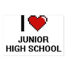 I Love Junior High School Postcards (Package of 8)