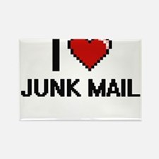 I Love Junk Mail Magnets