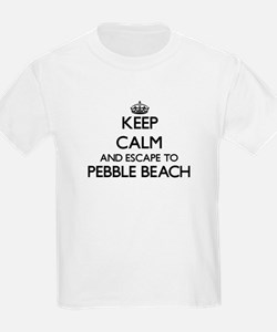 Keep calm and escape to Pebble Beach Calif T-Shirt