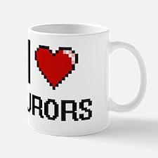I Love Jurors Mug
