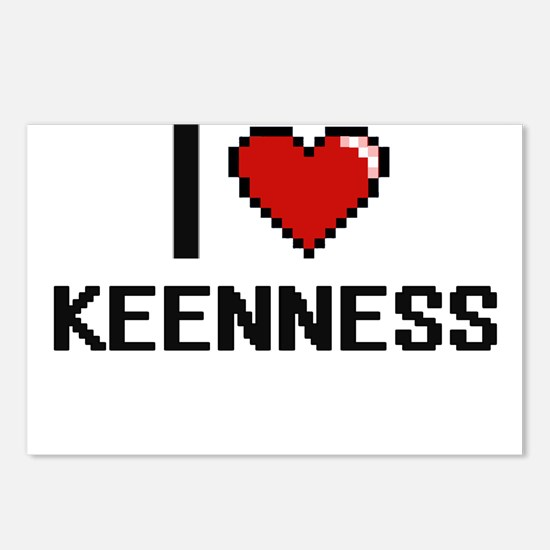 I Love Keenness Postcards (Package of 8)