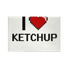 I Love Ketchup Magnets