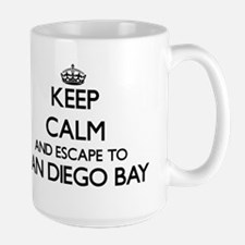 Keep calm and escape to San Diego Bay Califor Mugs